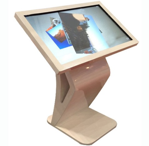 42 Inch Digital Interactive Advertisement Equipment Touch Screen Kiosk