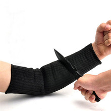 1 Pair Safety Arm Guard Bracers Protector Cut Proof Anti Abrasion Stab Cut Resistant Armband Long Sleeve Gloves Work