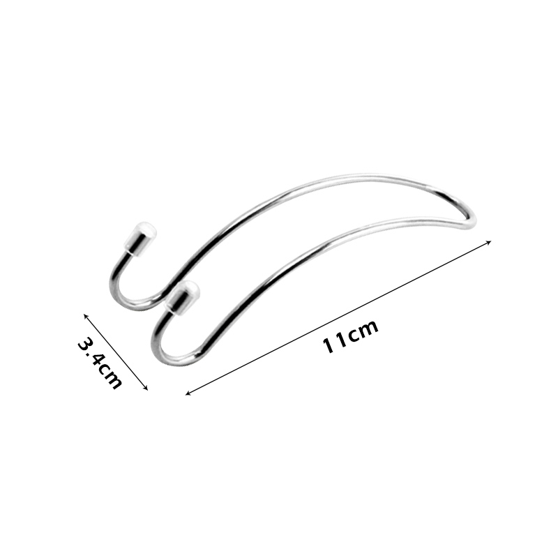 Image 4 - Metal Clips car seat hook auto headrest hanger bag car bag storage bag cloth bag fixing car accessories-in Rear Racks & Accessories from Automobiles & Motorcycles