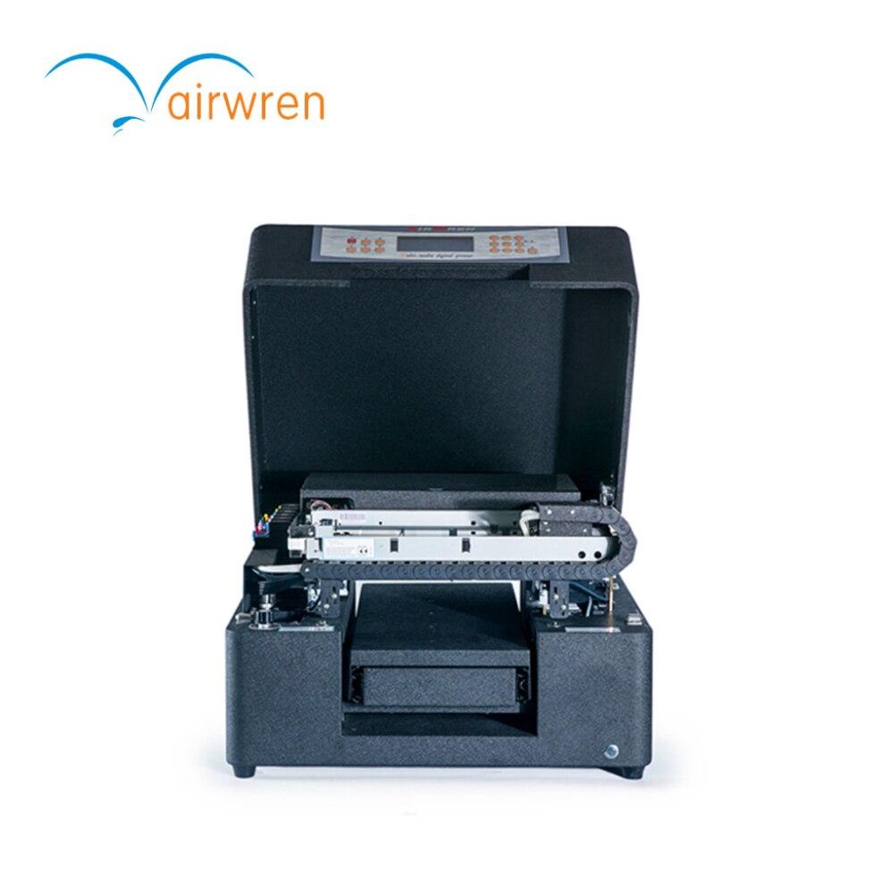 Impressora à plat Jet D'encre Uv Machine D'impression Ar-led Mini6 Imprimante À Jet D'encre