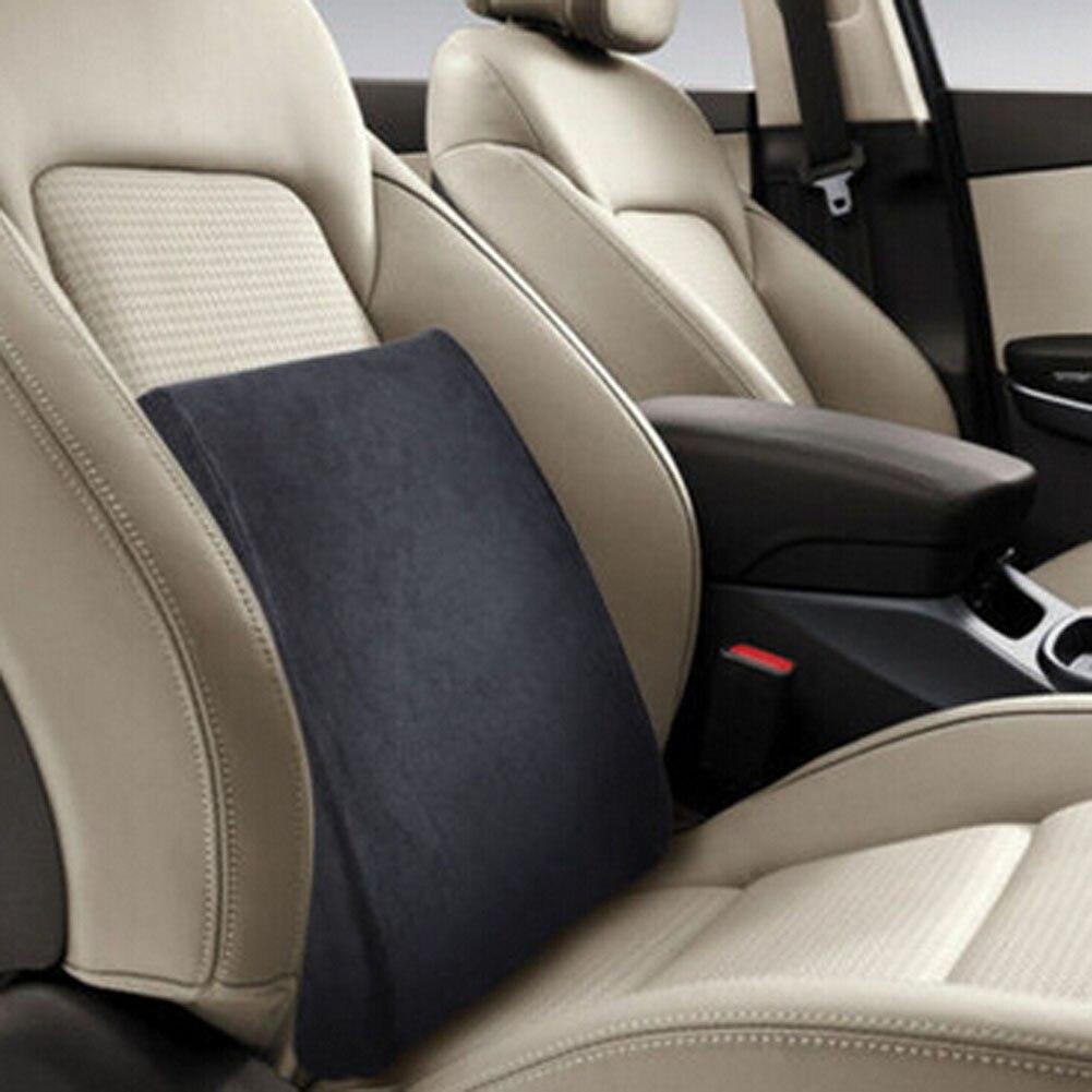 Memory foam поясничного Поясничные бандажи Подушки высокое качество рельеф талии для путешествий офис стул сиденье автомобиля