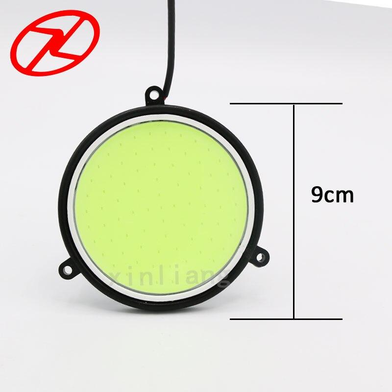 2X Υψηλή ισχύς COB Daytime Running Light 12V - Φώτα αυτοκινήτων - Φωτογραφία 4