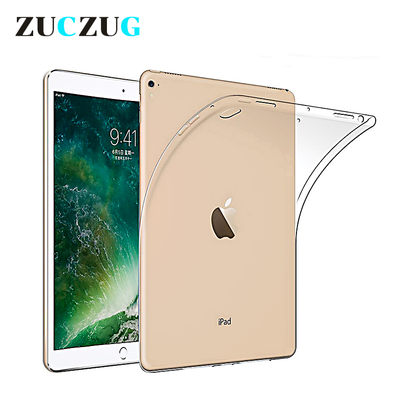 Crystal Case Cover for 2017 iPad pro 10.5 inch Shockproof Soft TPU Silicon Gel Case for iPad Pro 10.5 Tablet Case Funda Capa