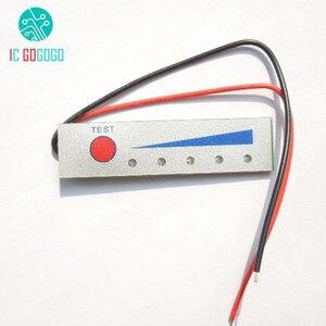 Image 2 - 5 s 21 v 리튬 배터리 용량 표시기 모듈 led 디스플레이 보드 배터리 전원 레벨 미터 테스터 5 pcs lipo 리튬 이온 배터리
