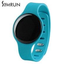 Symrun Bluetooth Smart Браслет Smart Band монитор сердечного ритма фитнес-трекер круг Смарт браслеты H8