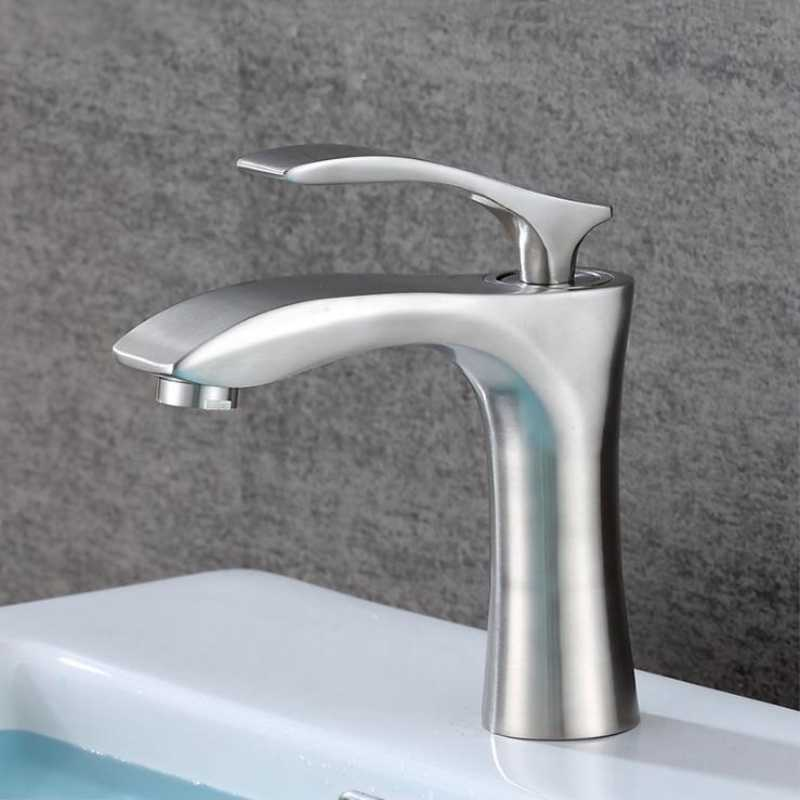 Donyummyjo Stainless Steel Hot And Cold Faucet Raised Bathroom Countertop Washbasin Household Drawing Table Under The Basin Tap Basin Faucets Aliexpress