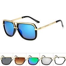 oculos de sol New Big Square Sunglasses Women Brand Designer Fashion Sun glasses Vintage Classic Men Glasses UV400