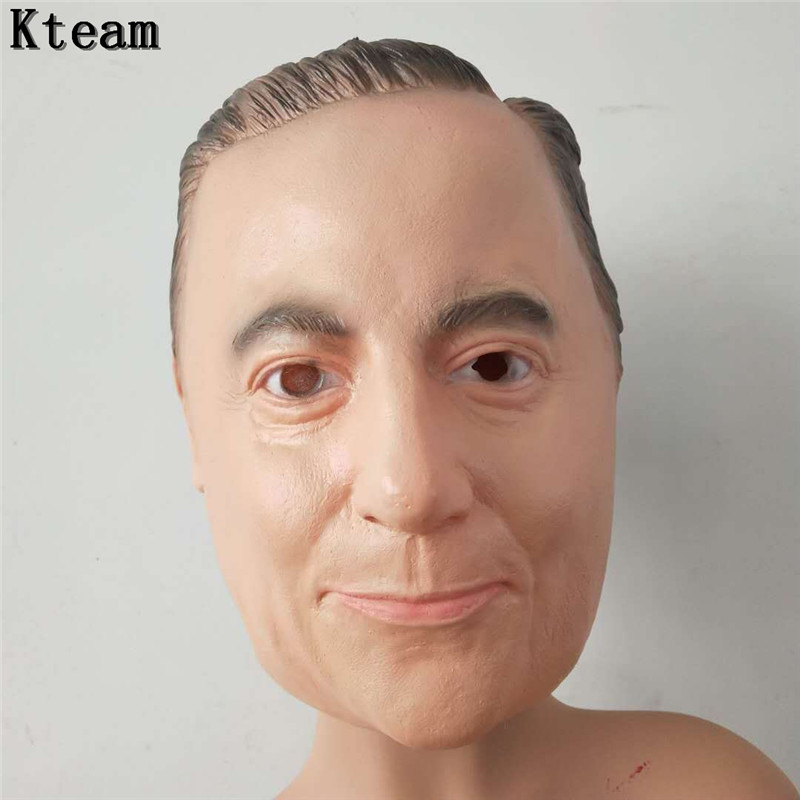 Costume Masks Eye Masks Clothing Shoes Accessories Us Vladimir Putin Russian President Adult Face Mask Halloween Costume Cosplay Myself Co Ls