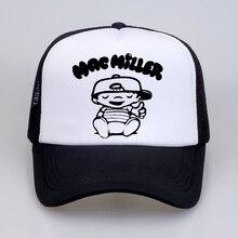 summer Men Women Baseball Cap Mac Miller Pleasure punk hat rock hipster streetwear Mesh Net Trucker Caps Hats
