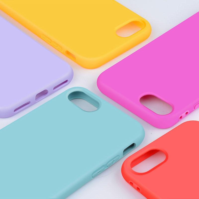 Funda de silicona para iPhone 8 Plus 7 Plus, material de TPU suave, - Accesorios y repuestos para celulares - foto 6