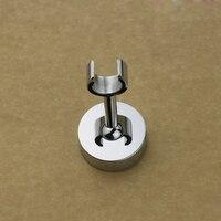 Free Shipping Solid Brass Chrome Finish Hand Shower Holder Wall Mount Adjustable Angle Hand Sprayer Bracket