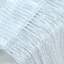 Window Door Glitter String Curtain Panel Fly Screen Room Divider Fringe Curtains Home Bedroom Decoration