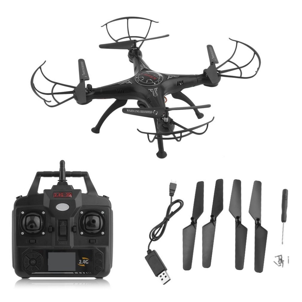 X5SW-1 6-Axles Gyro RC Quadcopter 2.4G 4 CH Drone Compact RC Helicopter With 0.3MP WiFi FPV Camera Photography Video Device(China)