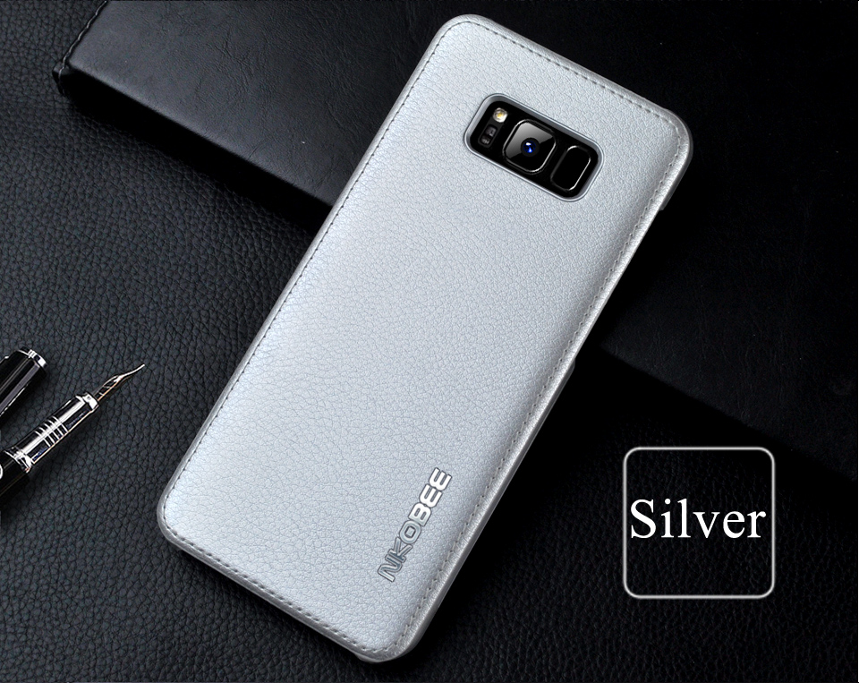 For Samsung Galaxy S8 Case Leather Luxury Cover Case For Samsung Galaxy S8 S8 Plus Case S8 S8 Plus Original Hard Back NKOBEE (13)