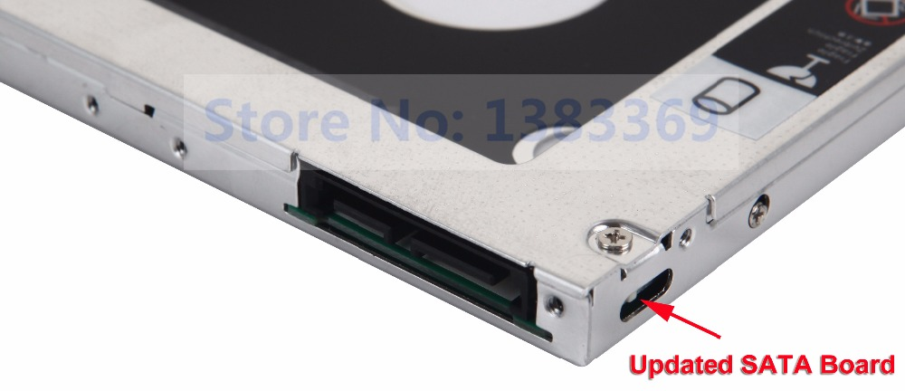 2nd SSD HD Hard Drive Case Optical Caddy for Acer Aspire E15 E5-575G E14 E5-411G
