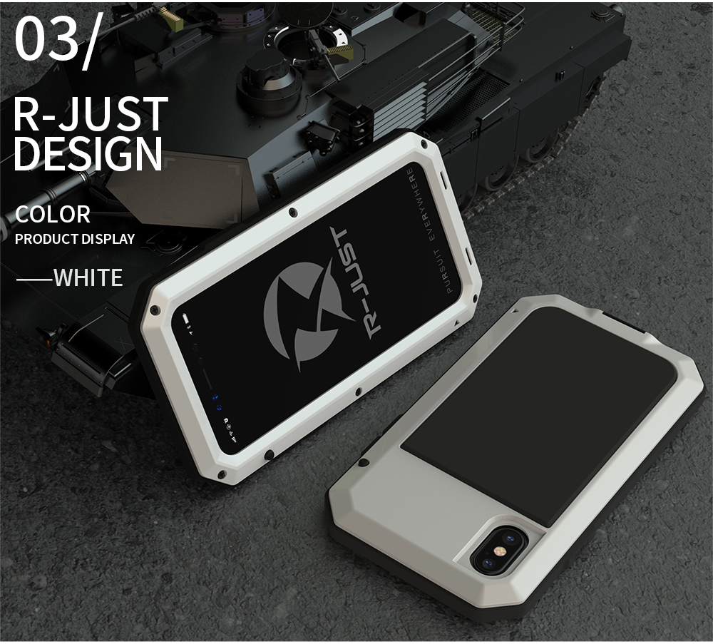 For iPhone X Tactical Waterproof Case (14)