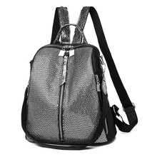 New Fashion Backpack Women Sequin Oxford Bagpack Female Anti Theft School Bag for Girls Sac A Dos mochila mujer