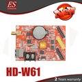 W61 HD-W61 color Único y Dual llevó el regulador del panel Soporte usb y wifi