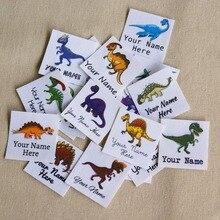 96 pezzi logo Personalizzato etichette/etichette di marca, personalizzato nome di tag per i bambini, ferro sopra, etichette di Abbigliamento personalizzati, Etichette Nome