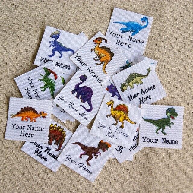 Étiquettes avec logo personnalisées avec nom pour enfants, 96 pièces