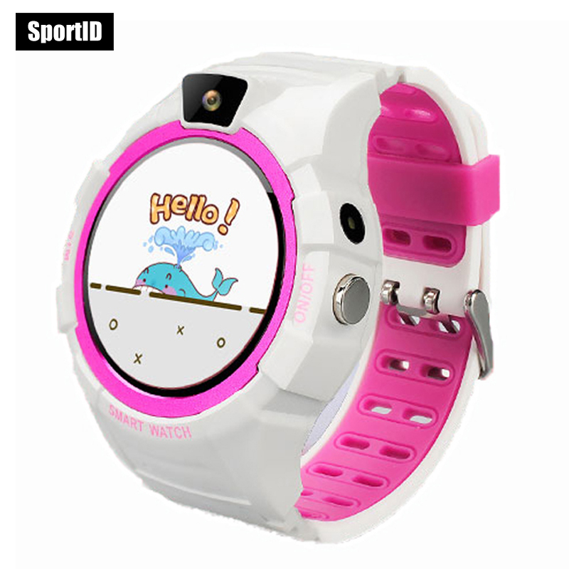 Smart Watch Children GPS Kids Safe Monitor with Camera Support SIM /TF Dial SOS Call Positioning Tracker MC18 Watches Android