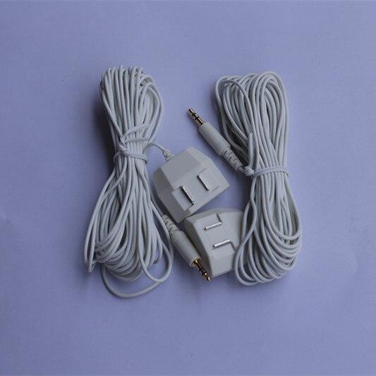 2pcs/lot Water Leak Detection Sensor Cable Sensor Wires for Water Flood Leakage Detection Alarm System WLD-805,WLD-806,WLD-807