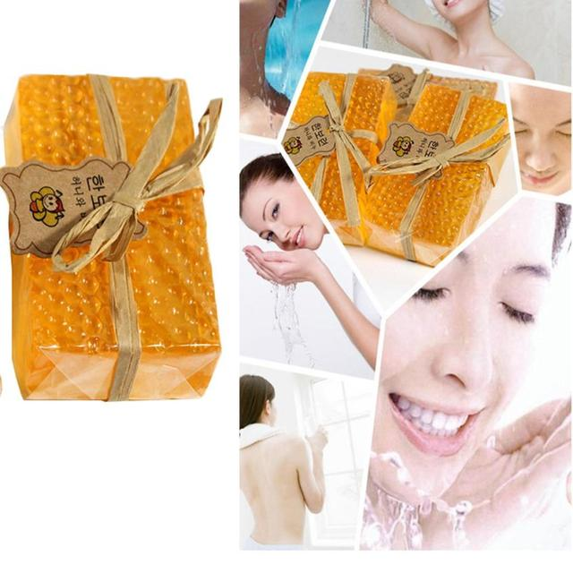 100% HandMade Soap Whitening Peeling Glutathione Arbutin Honey Kojic acid Soap Skin Care 90g 5JY6 2