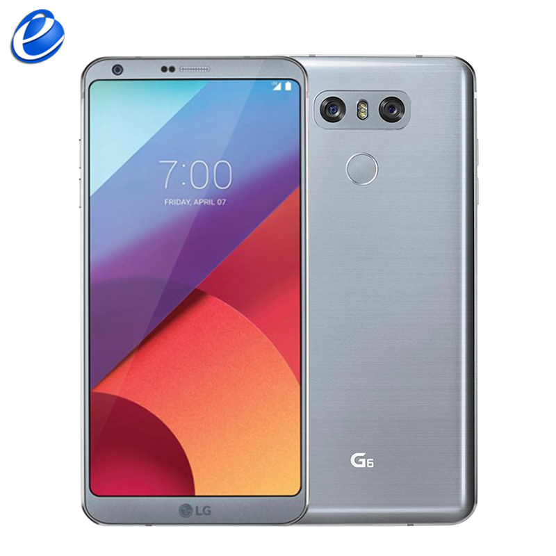 """Original Unlocked LG G6 G600 64GB ROM Single Sim 5.7"""" inch NFC Android  Snapdragon 821 Dual Back Camera 4G LTE Cellphone-in Cellphones from Cellphones & Telecommunications    1"""