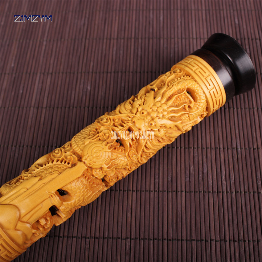 Ebony вертикальный Самшит кадило lotus/дракон полые ладана круглый ладан дерева ладана коробка благовоний вставляется 21*4.5 см