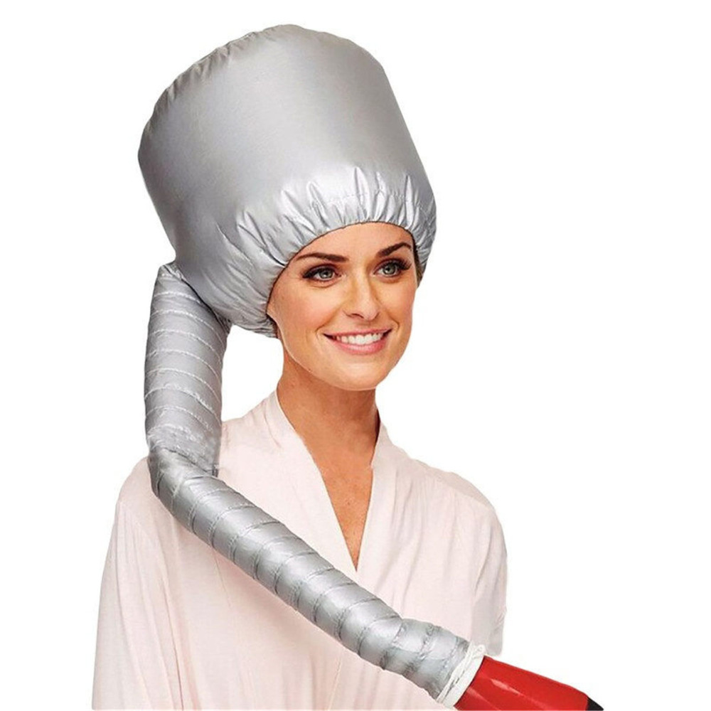 Salon Hair Dryer Soft Hood Bonnet Cap Attachment Haircare Large Bouffant Lightweight Styling Tool Comfortable Home Portable