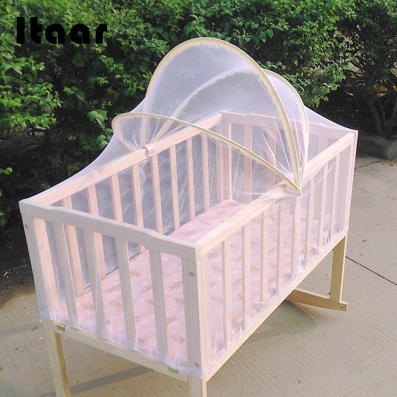 Baby Bed Tent Infant Canopy Folding Anti Mosquito Net Toddlers Crib Cot Netting Crib Netting