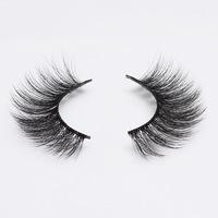 2 pairs natural Fake   Eyelashes   3D Mink Lashes Luxury Hand Made Long Lasting Volume Lash Extension Reusable   False     Eyelashes   758