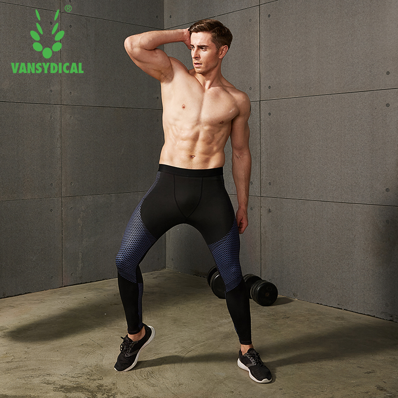 1a2df001e9499 Mens Gym Compression Pants 2019 New Crossfit Running Tights Men  Bodybuilding Sport Training Pants Trousers reflective Joggers-in Running  Pants from Sports ...