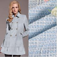 All Polyester Dyed Bristles Woolen Woolen Fabric Women Coat Fabric Tweed Fabric Spot Free Shipping