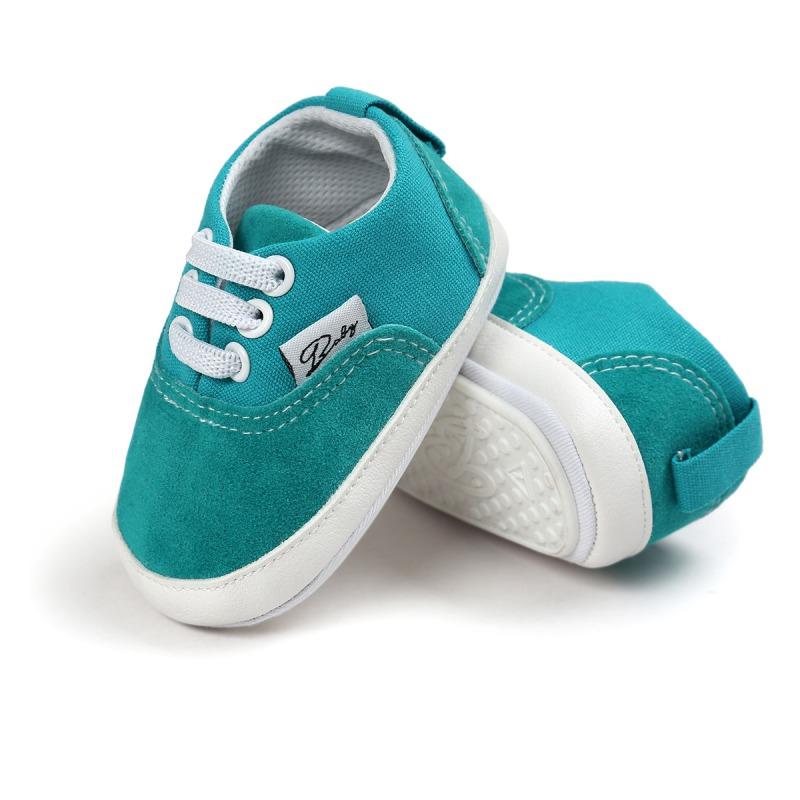 Wiosna Jesień Dziecko Noworodka Dziewczynka Chłopiec Miękkie Podeszwy antypoślizgowe Maluch Prewalker Niemowląt Sneaker Buty Na Co Dzień 19