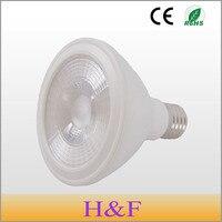 Free Shipping PAR30 LED Spotlight LED Lamp E27 12W AC180 240V 50Hz White Warm White LED