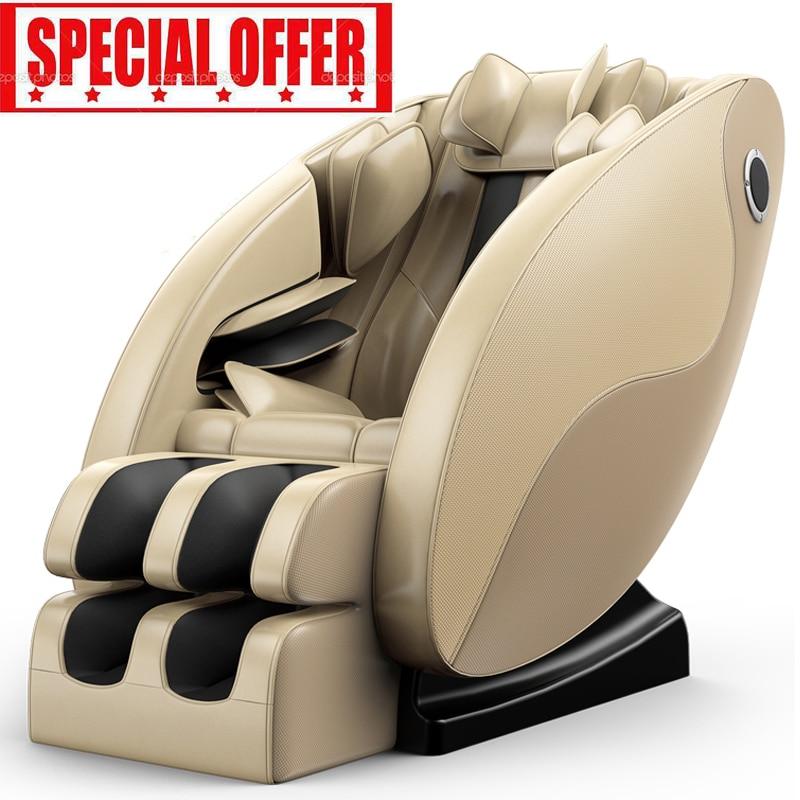 2018 nuovo costo efficace automatico pieno multifunzionale sedia di massaggio capsula domestici di riscaldamento del corpo sedia di massaggio elettrico-in Massaggi e relax da Bellezza e salute su  Gruppo 1