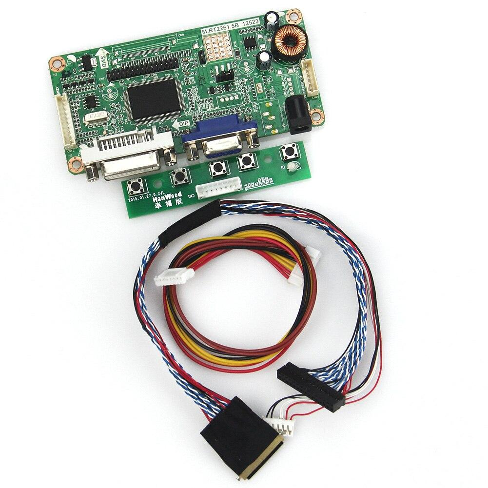 (vga + Dvi) M. Rt2261 M. Rt2281 Lcd/led Controller Driver Board Für Ltn101nt02 B101aw03 Lvds Monitor Wiederverwendung Laptop 1024x600 Elegant Und Anmutig