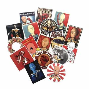 Image 2 - TD ZW 50 Pcs/lot Japanese Anime ONE PUNCH MAN Stickers For Car Laptop Phone Skateboard Motorcycle Bicycle Cartoon Sticker