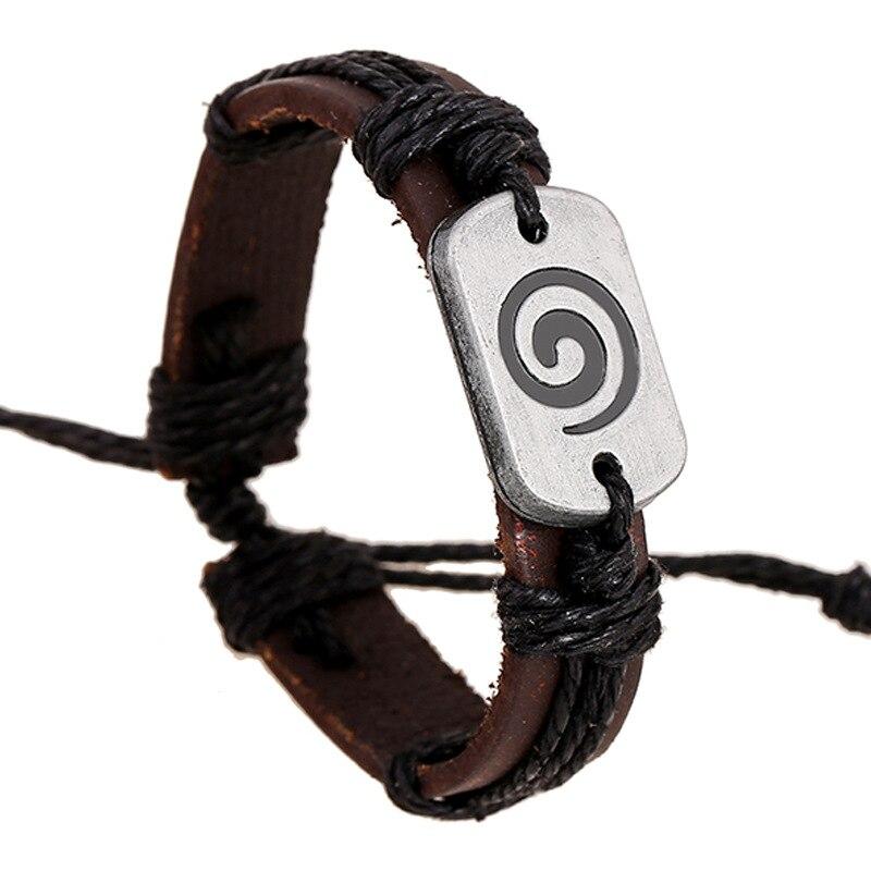 Retro Cow Leather Bracelets for Students boy girls gifts Fashion Charm Bracelet Women Jewelry Wrap Wristband Handmade Wax Rope