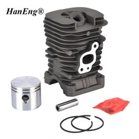 41MM CYLINDER KIT FOR PARTNER 350 351 352 POULAN 220 260 1950 2150 2450 2550 JONSERED