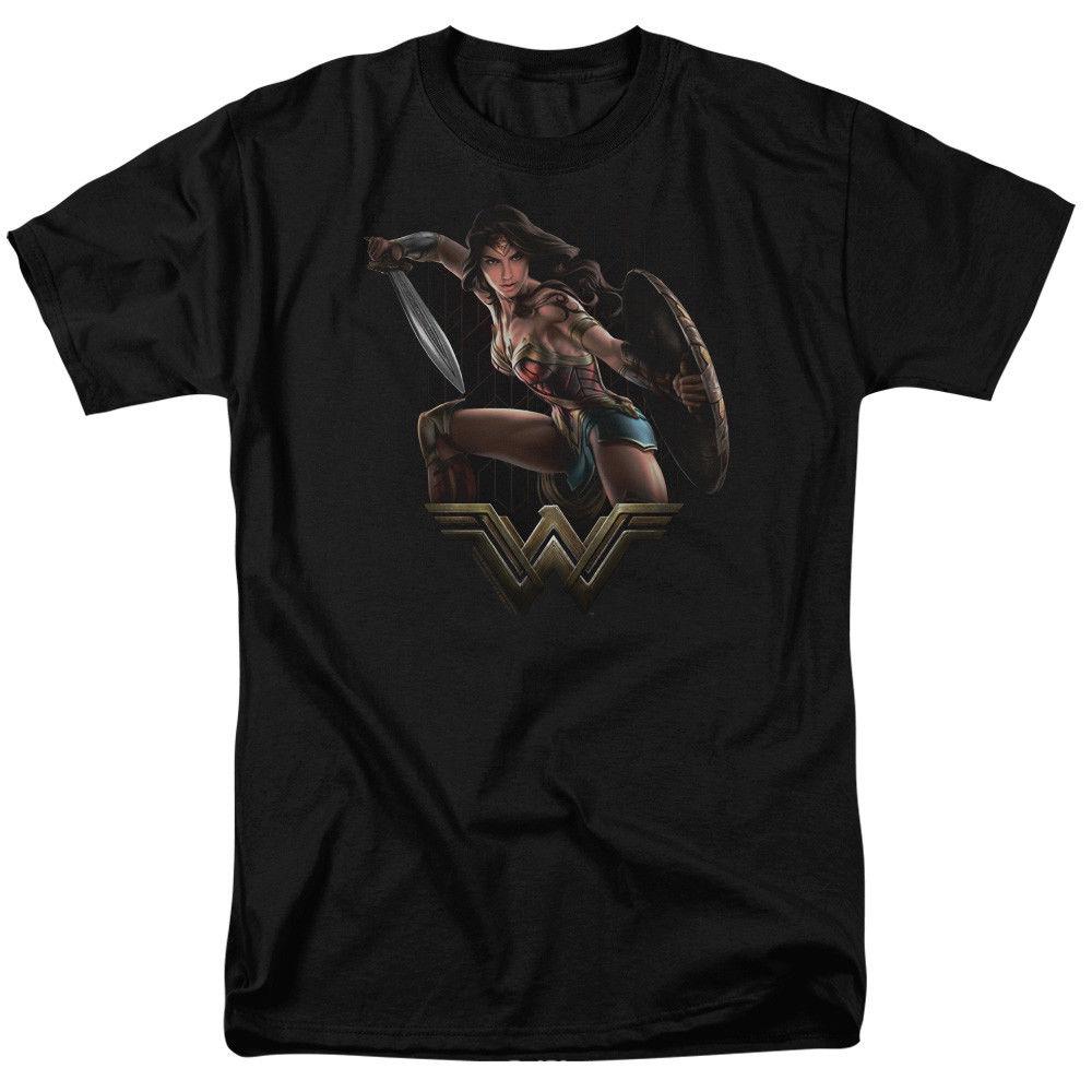 2018 Для мужчин модные футболки Wonder Woman фильм Бойцовский футболки для Для мужчин