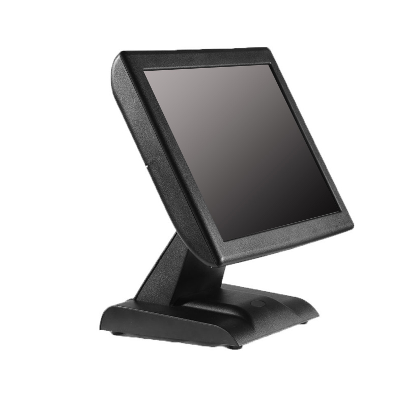 Hot-sale classical 15inch resistive touch POS system/cash register/<font><b>cashier</b></font> POS <font><b>machine</b></font> with card reader image