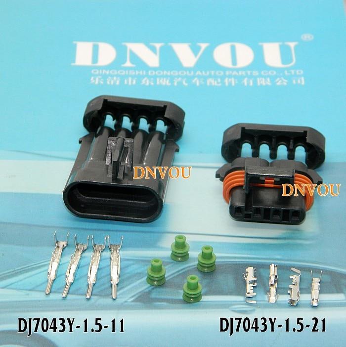 1set Oxygen sensor plug connectors Electrical Wire connector Plug  DJ7043Y-1.5-11  DJ7043Y-1.5-21 oxygen air fuel sensor oem 89467 48040 afr sensor for toyota