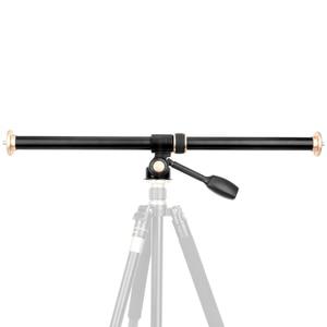 """Image 2 - 61 cm/24 """"Tripod Boom Çapraz Uzatma Kol Yatay Çubuk kamera yatağı Dönebilen Çok Açı Merkezi Sütun Tripod tüp Aksesuarı"""