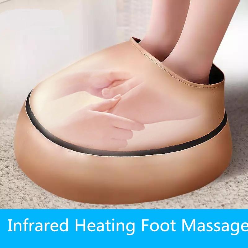 Appareil électrique de Massage des pieds Shiatsu Massage chauffant masseur à rouleaux de pieds Vibration pour pied Relax fête des mères cadeau soins de santé
