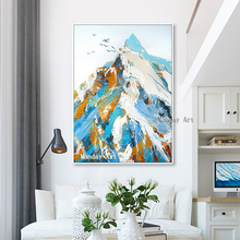 high quality Nordic Style Oil Painting handmade landscape oil painting Canvas art Home Decoration Wall Pictures For Living Room
