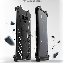 Alloy Case For Samsung galaxy note 9 Metal Armor Case On Note9 Protective Cover For Samsung Note 9 R-JUST Batman Bumper Funda