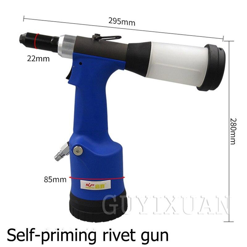 Pneumatic Rivet Gun Self-priming Rivet Gun Rivet Gun Blind Rivet Machine Industrial Grade Riveting Tool