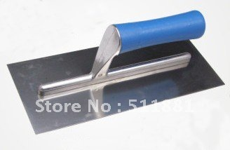 NCCTEC Tiling Trowel Stainless Steel 10'' Plastic Handle And Aluminum Support